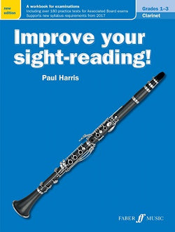 Harris , Paul Improve your Sight Reading Clarinet Grades 1-3