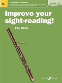 Harris , Paul Improve Your Sight Reading Bassoon Grades 1-5
