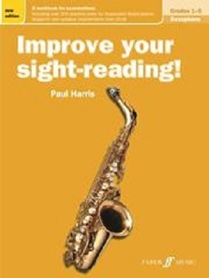 Harris , Paul - Improve Your Sight Reading Saxophone Grades 1-5