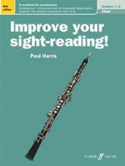 Harris , Paul Improve Your Sight Reading Oboe Grades 1-5