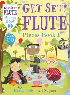 Steynor Jolly - Get Set Flute Pieces Book 1 Bk/CD