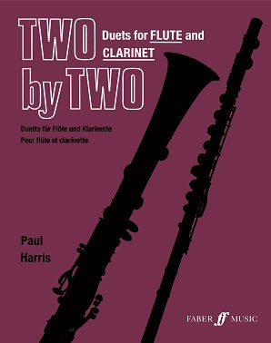 Harris, P - Two By Two Duets for Flute and Clarinet