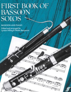 First Book of Bassoon Solos Bassoon/Piano