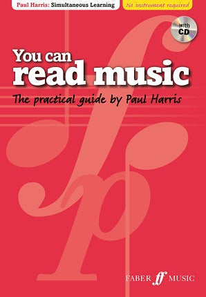 Harris, Paul - You Can Read Music Book/CD