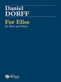Dorff, D - For Elise for Flute and Piano