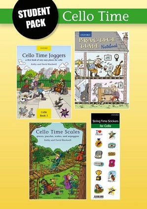 Cello Time Student Pack