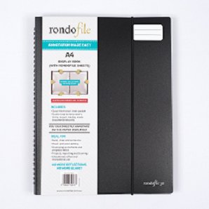 Rondofile (A4) 30 Black Cover (30 sheets)
