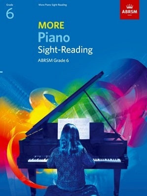 ABRSM More Piano Sight Reading Grade 6