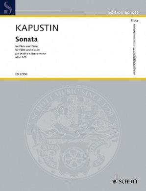 Nicolai , Kapustin  - Sonata for Flute and Piano Op 125