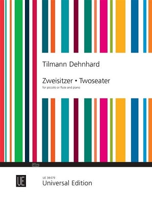 Dehnhard Tilmann - Twoseater for Piccolo or Flute/Piano