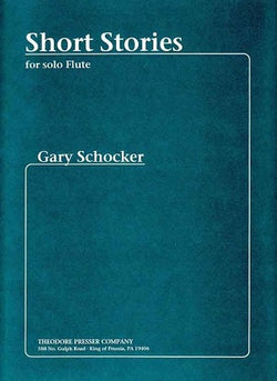 Schocker, G - Short Stories for solo flute