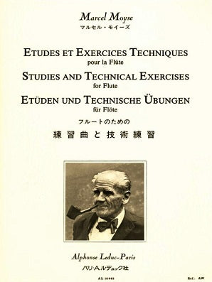 Moyse, Marcel - Studies And Exercises Techniques For Flute