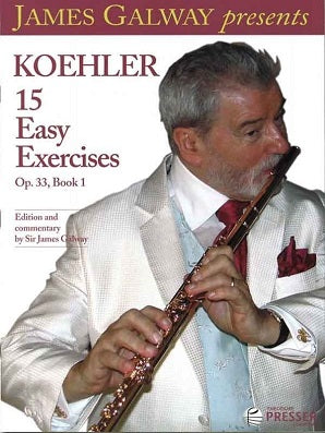 Koehler: 15 Easy Exercises Op. 33, Book 1