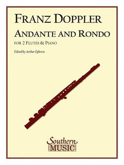 Doppler - Andante and Rondo, Op. 25 for 2 Flutes and Piano