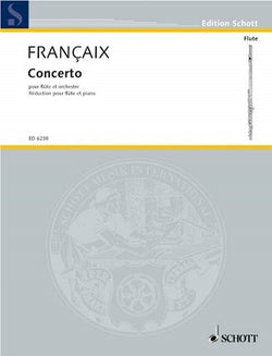 Francaix, Jean - Concerto for Flute and Orchestra