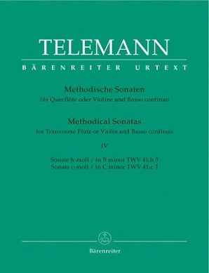 Telemann - Methodical Sonatas Book 4 Nos 7-8