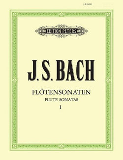 Bach J S - Sonatas Vol 1 (Urtext) BWV 1030 - 1032 (Peters) FLT/PNO/CD