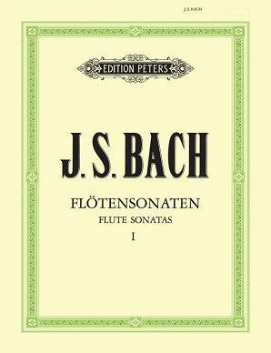 Bach J S - Sonatas Vol 1 (Urtext) BWV 1030 - 1032 (Peters)