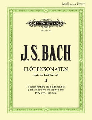 Bach J S - Sonatas Vol 2(Urtext) BWV 1033 - 1035 (Peters)