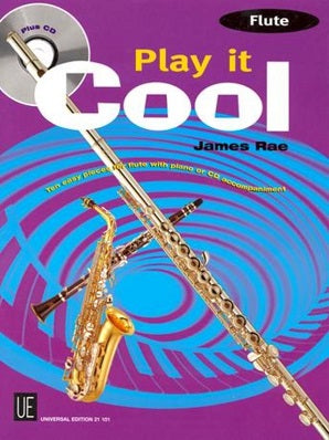 Rae, James - Play It Cool - Flute with CD