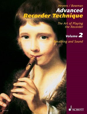 Heyens, Gudrun - Advanced Recorder Technique Vol. 2