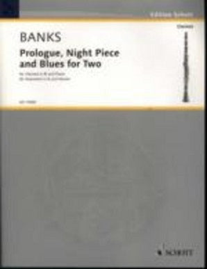 Banks, Donald - Prologue, Night Piece and Blues for Two clarinet and piano