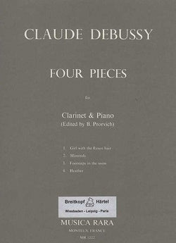 Debusssy  - 4 Pieces from the 'Preludes'