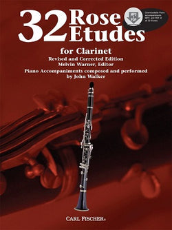 Rose, C 32 Etudes for Clarinet