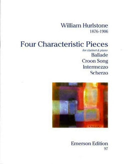 Hurlstone, William - 4 Characteristic Pieces