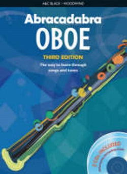 Abracadabra Oboe 3rd Edition Book + 2CDs