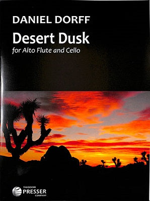 Dorff, D - Desert Dusk for Alto flute and Cello