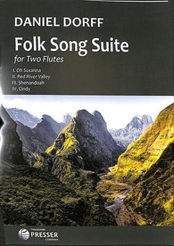 Dorff, D - Folk Song Suite (2016) For Two Flutes