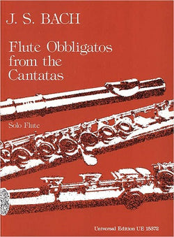 Bach, J S - Flute Obbligatos from the Cantatas