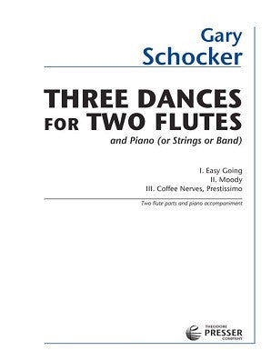 Schocker, G - Three Dances for Two Flutes (Presser)