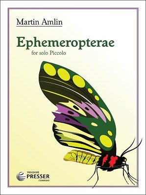 Amlin, Martin - Ephemeropterae for solo piccolo
