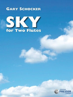 Schocker, G - Sky For Two Flutes (Presser)