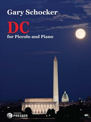 Schocker, Gary - DC for piccolo and piano