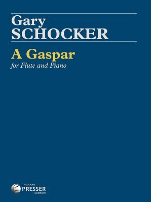 Schocker Gary,  A Gaspar For Flute And Piano