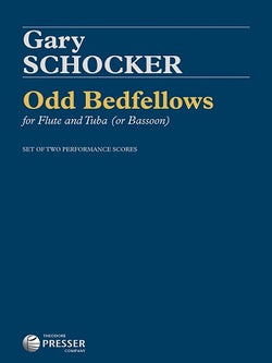 Schocker, Gary - Odd Bedfellows Flute, Tuba (or Bassoon)