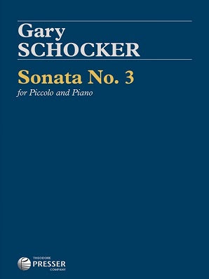 Schocker, G -  Sonata No 3 for Piccolo and Piano