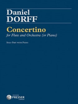 Dorff, Daniel - Concertino for flute and piano