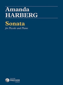 Harberg, Amanda -  Sonata for Piccolo and Piano