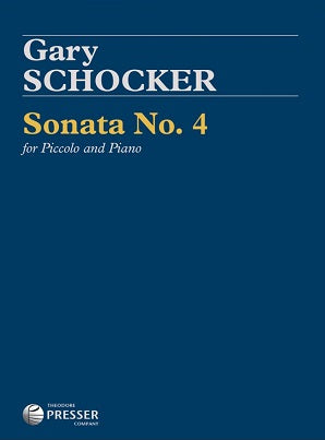 Shocker, Sonata No 4 for piccolo and piano