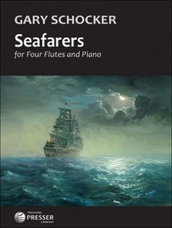 Schocker, Gary - Seafarers for four flutes and piano
