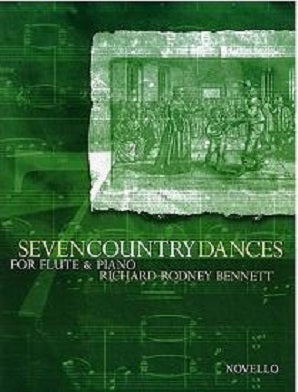 Bennett , Richard Rodney -7 Country Dances Flute Piano