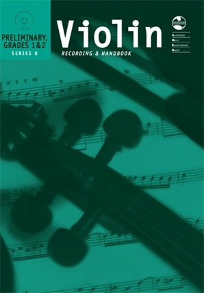 Violin Preliminary To Grade 2 Series 8 CD Recording Handbook