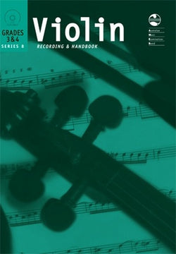 Violin Grade 3 & 4 Series 8 CD Recording & Handbook