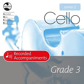 Cello Series 2 Grade 3 Recorded Accompaniments
