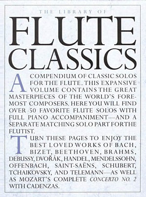 The Library of Flute Classics - Flute/Piano