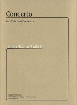 Zwilich , Ellen Taaffe  -  Concerto for Flute and Orchestra